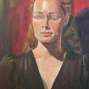 Lady Ann Art Print
