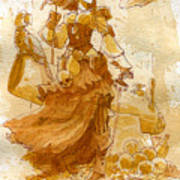 Lady Bonney Art Print by Brian Kesinger