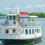 Lady Chadwick Boat - Cabbage Key Island, Florida Art Print