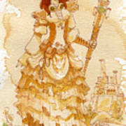 Lady Codex Art Print by Brian Kesinger