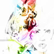 Lady Gaga Art Print