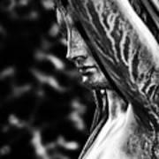 Lady In The Garden 1 Art Print