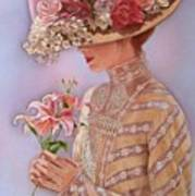 Lady Jessica Art Print by Sue Halstenberg