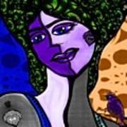 Lady Me Art Print