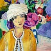 Lady Of Le Piviones Art Print