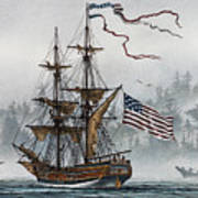 Lady Washington Art Print