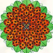 Ladybug Design Art Print