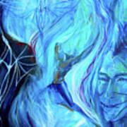 Laeyfe Becomes The Aurora Art Print