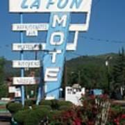 Lafon Motel Art Print