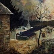 Laforet Ardennes Village  Art Print