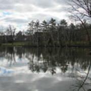 Lagoon Reflection 1 Art Print