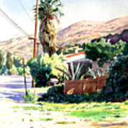 Laguna Canyon Palm Art Print