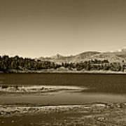 Laguna Mucubaji - Andes Art Print
