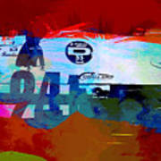 Laguna Seca Racing Cars 1 Art Print