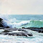 Laguna Splash Art Print