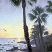 Laguna Sunset Art Print