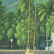 Lahaina Harbor Art Print