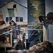 Lahaina Sugar Mill Art Print