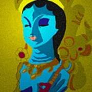 Lakashimi Gold Art Print