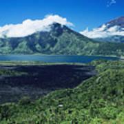 Lake Batur Art Print