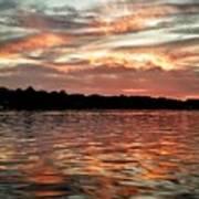 Lake Beulah Art Print