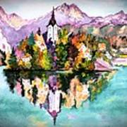 Lake Bled - Slovenia Art Print