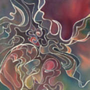 Lake Bottom II Art Print