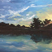 Lake Bridgeland Art Print