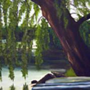 Lake Carmel Landscape Art Print