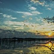 Lake Champlain Vermont Sunrise - 2 Landscape Art Print