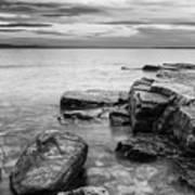 Lake Champlain-vermont-sunrise-storm Art Print