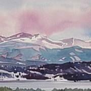 Lake Dillon Art Print