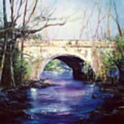 Lake District Bridge Art Print