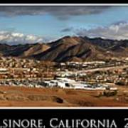 Lake Elsinore 2008 Art Print
