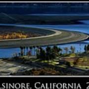 Lake Elsinore Sunset Art Print