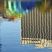 Lake Eola Reflections Art Print
