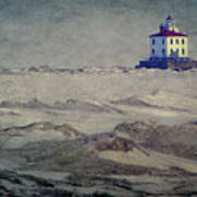 Lake Erie Lighthouse Art Print