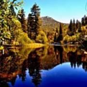 Lake Fulmor - Idyllwild, Ca Art Print