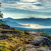 Lake George From Cat Mountain 1 Art Print