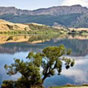 Lake Hayes New Zealand Art Print