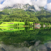 Lake Hintersee Art Print
