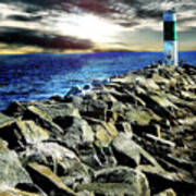 Lake Huron Lighthouse Art Print