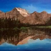 Lake Josephine  Art Print