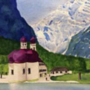 Lake Konigssee Art Print