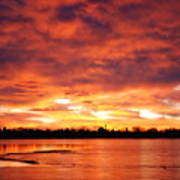 Lake Loveland Sunrise Art Print