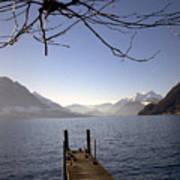 Lake Lucerne Art Print