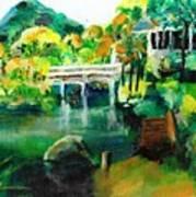 Lake Malibu Art Print
