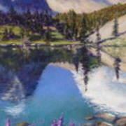 Lake Marie Art Print by Zanobia Shalks