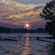 Lake Martin Sunset Art Print