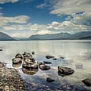 Lake Mcdonald - Glacier National Park Art Print